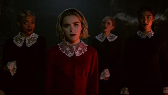 """""""El mundo oculto de Sabrina"""" es una de las historias de Netflix que puedes disfrutar en Halloween. Foto: Difusión."""