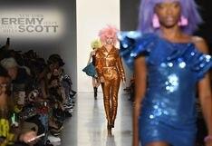 El look ochentero estuvo presente en el NYFW gracias a Jeremy Scott | FOTOS