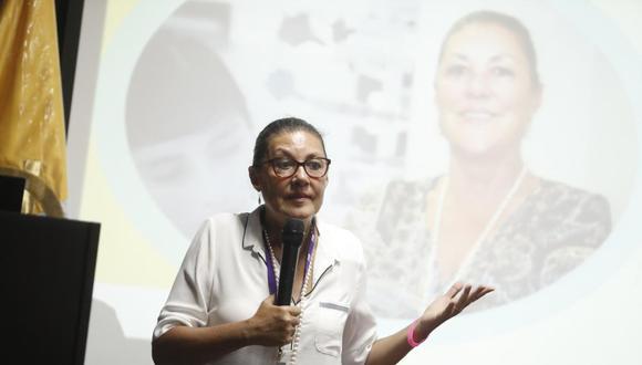 Fabiola León-Velarde, representante de Concytec, renunció a su cargo tras caso 'Vacunagate'. (César Campos /GEC)