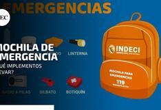 Simulacro 2021: ¿Qué debe tener mi mochila de emergencia?