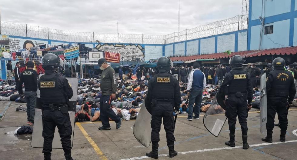 El orden del penal se logró sin realizar mayor uso de la fuerza y sin reportar heridos ni victimas mortales.  (FOTOS: GEC)