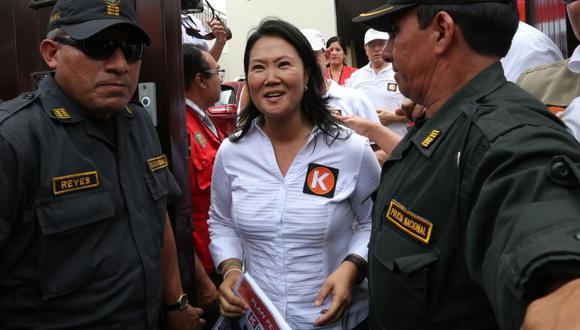 La investigada Keiko Fujimori negó varias veces ser la 'señora K' y haberse reunido con el exjuez César Hinostroza. (Foto: GEC)