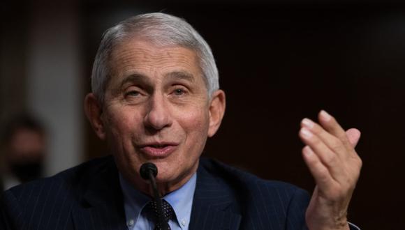 Anthony Fauci es el principal responsable científico en la lucha contra el coronavirus en Estados Unidos. (Foto: Graeme JENNINGS / POOL / AFP).