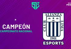 Alianza Lima eSports logra el campeonato nacional de PES 2021