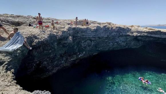 Balneario Malta. Foto: Google Maps. vía El Tiempo de Colombia