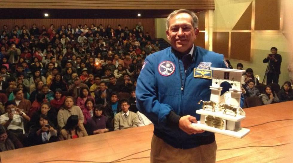 De la NASA a Cusco y Arequipa: Noriega charló con estudiantes - 5
