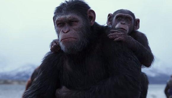 'El Planeta de los Simios: La Guerra' fue la más reciente película de la saga. Foto: Difusión.