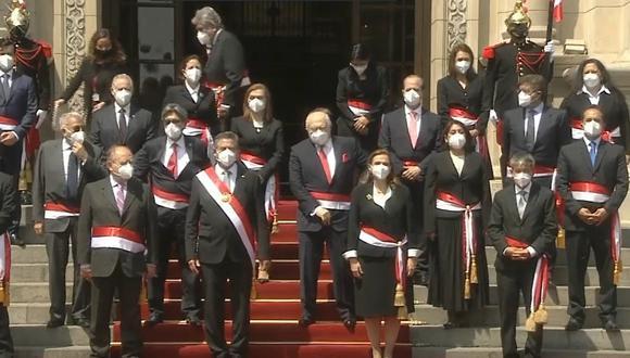El jueves, el presidente Manuel Merino tomó juramento a los integrantes del Gabinete Ministerial. (Foto: GEC)
