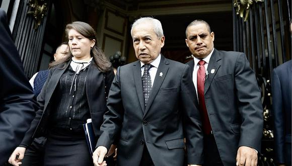 Pedro Chávarry será investigado por el presunto delito de encubrimiento real, (Foto: GEC)