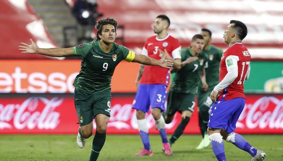 Marcelo Moreno Martins llegó a los 6 goles en las Eliminatorias Qatar 2022 (Foto: AFP)