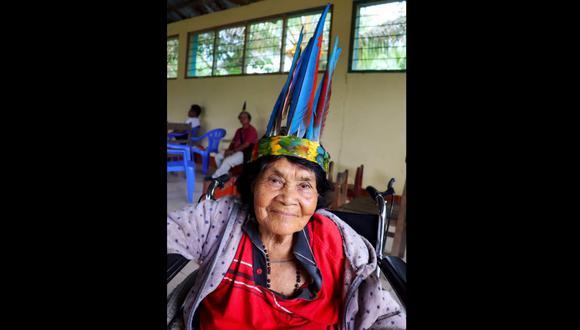 Madre de Dios: Neri Naninahua era considerada un libro viviente para sus hermanos indígenas y reconocida por historiadores, periodistas, antropólogos y otros estudiosos. (Foto: Gore Madre de Dios)