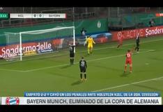 Bayern Múnich fue eliminado de la Copa de Alemania por el Kiel de la segunda división   VIDEO