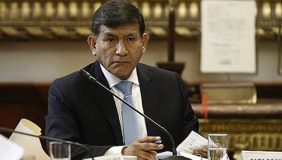 Le piden a ministro del Interior, Carlos Morán, realizar un mea culpa por caso del cuádruple crimen en El Agustino. (GEC)