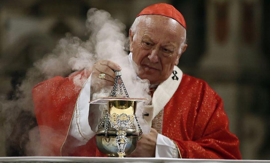 Papa Francisco acepta la renuncia de arzobispo de Santiago de Chile Ricardo Ezzati imputado por encubrimiento de abusos sexuales. (AP)