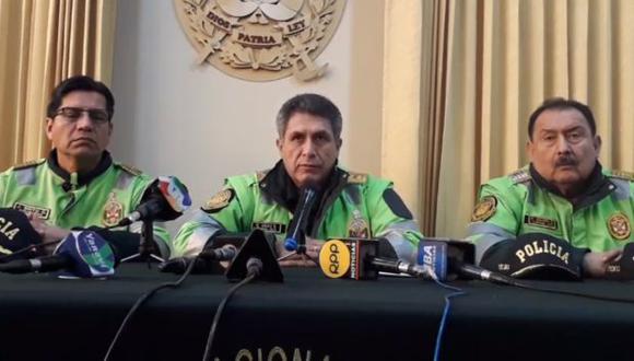 Tía María: general PNP confirma uso de explosivos por parte de manifestantes