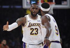 Lakers vapuleó 122-101 a Hawks con doble-doble de LeBron James