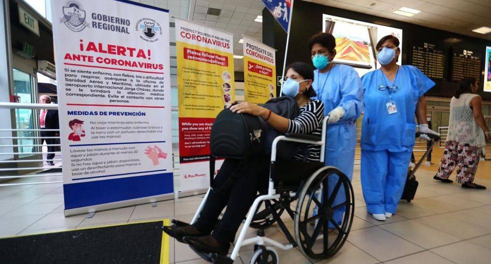 El Ministerio de Salud (Minsa) informó que las personas que fueron internadas por presuntamente estar infectadas con el coronavirus dieron negativo en sus exámenes. (Foto: GEC)