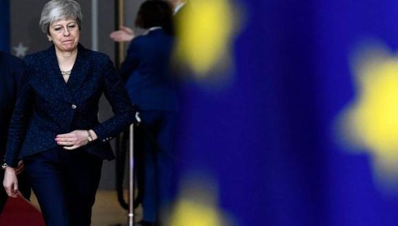 Theresa May le pidió más tiempo a la Unión Europea. DIDIER LEBRUN © PHOTO NEWS VIA GETTY IMAGES/ Vía BBC Mundo