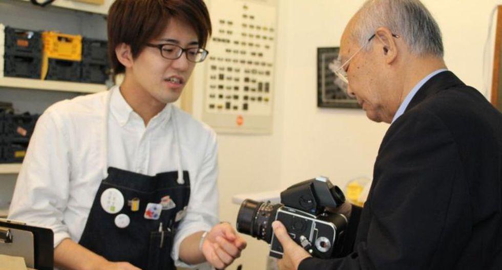 En Japón prosperan las tiendas de cámaras antiguas. (Foto: Yuko Komura)