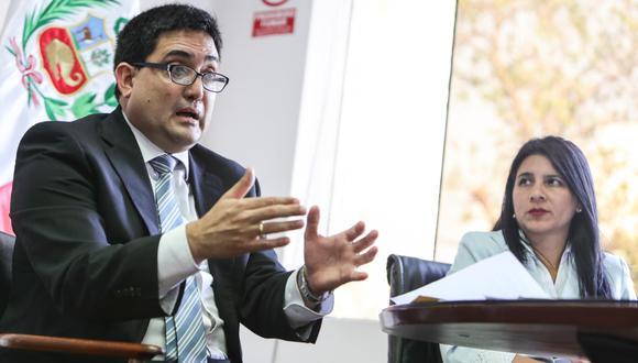 Jorge Ramírez fue retirado de la procuraduría ad hoc del Caso Lava Jato. Su lugar será ocupado por Silvana Carrión, adjunta de su despacho. (Foto: Archivo El Comercio)