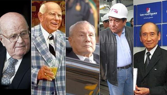 Los 5 emprendedores peruanos más exitosos del empresariado