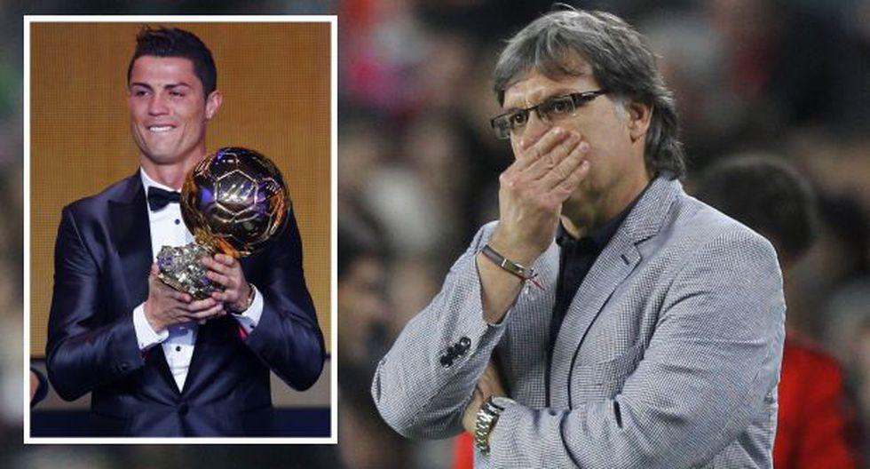 """Gerardo Martino: """"Una cosa es ser premiado y otra ser el mejor"""""""