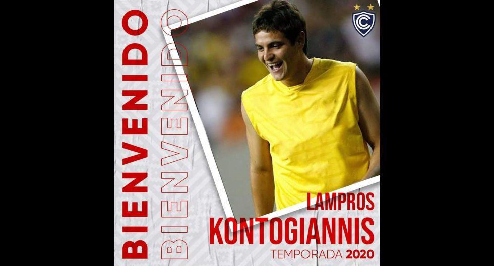 Lampros Kontogiannis procedente de Veracruz de México. (Foto: Twitter)