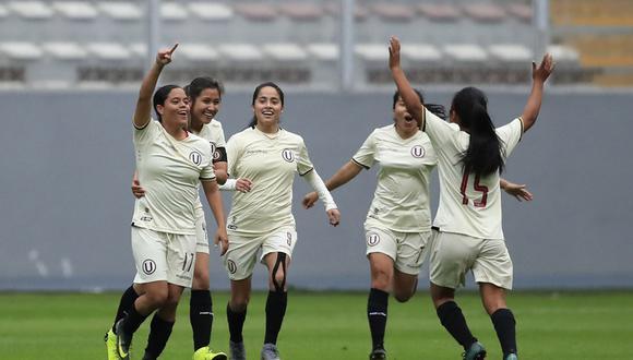 Alianza Lima vs. Universitario femenino: cremas se quedaron con el título de la Zona Lima del Campeonato Nacional de Fútbol Femenino.   Foto: Andina