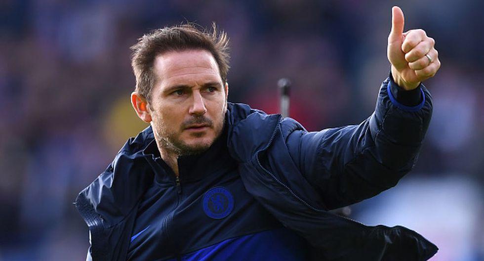 Frank Lampard, entrenador del Chelsea. (Foto: AFP)