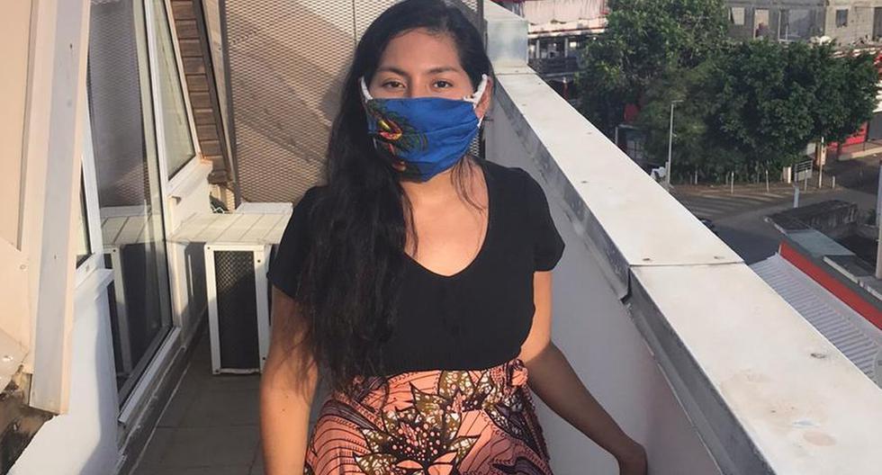 Carla Montoya, de 27 años, cuenta que junto a su esposo han tomado la decisión de salir de casa solamente para lo verdaderamente necesario. De esta manera, evitará de forma sustancial el contagio del virus. (CORTESÍA).