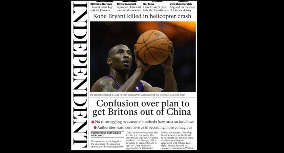 La portada de The Independent. (Foto: Difusión)