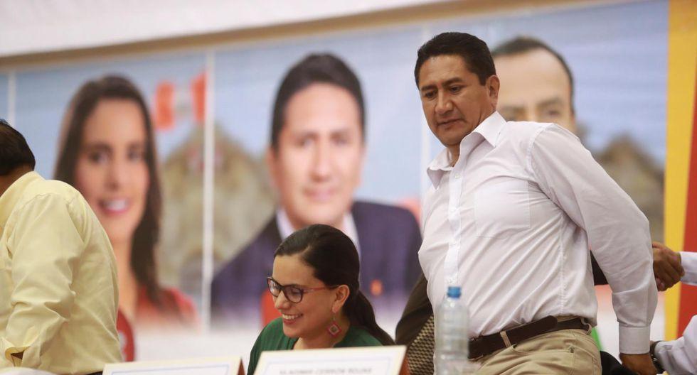 Nuevo Perú va en alianza con Perú Libre, de Vladimir Cerrón. (Foto: Lino Chipana / El Comercio)