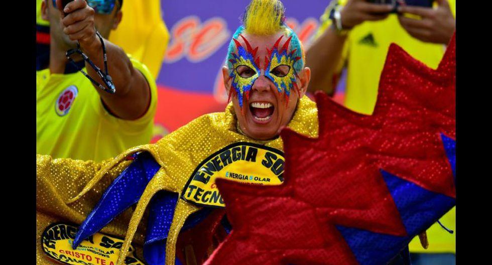 Ecuador-Colombia: hinchas cafeteros pusieron la fiesta en Quito - 6