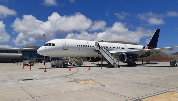 El aeropuerto de Santa Helena anunció su apertura al público a partir del 25 de septiembre de 2021 para vuelos comerciales. (Facebook: St.Helena. Airport)