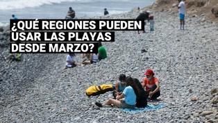 Conoce las regiones que pueden hacer uso de las playas y qué medidas deben de seguir