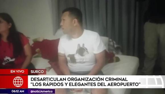 La banda operaba en el Callao y distritos aledaños de Lima Metropolitana, desde el año 2016.  (Captura: América Noticias)