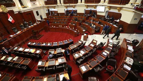 El pleno del Congreso reinició hoy su debate de la Ley de Presupuesto para el 2018. Se prevé que hoy se realice la votación. (Foto: Juan Ponce / El Comercio)