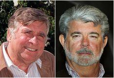 Star Wars y Star Trek: así fue el único encuentro entre George Lucas y Gene Roddenberry