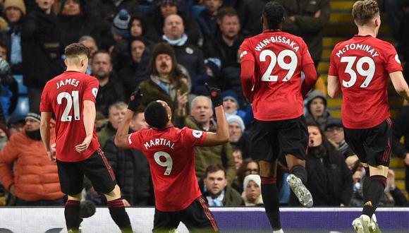 Anthony Martial y Donny van de Beek son los principales nombres que suenan para salir del Manchester United. (Foto: AFP)