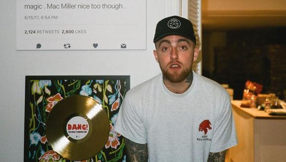 """Mac Miller murió por una """"sobredosis accidental"""" de fentanilo, cocaína y alcohol. (Foto: @macmiller)"""