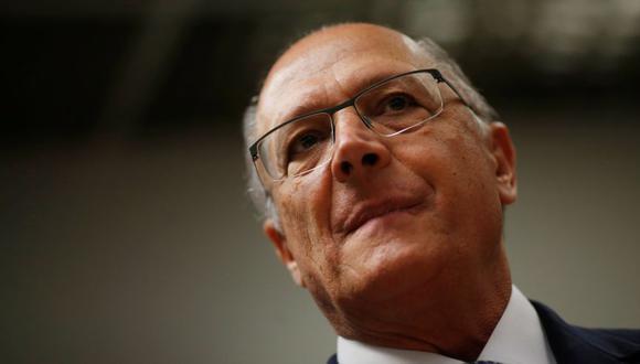 """Geraldo Alckmin, el candidato del """"establishment"""" en Brasil. (Foto: Reuters)"""