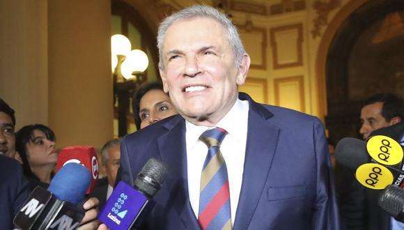 Luis Castañeda debía brindar detalles sobre la ejecución de los contratos de concesión por la Línea Amarilla, Rutas de Lima y el contrato de fideicomiso del ByPass de 28 de Julio. (Foto: GEC)