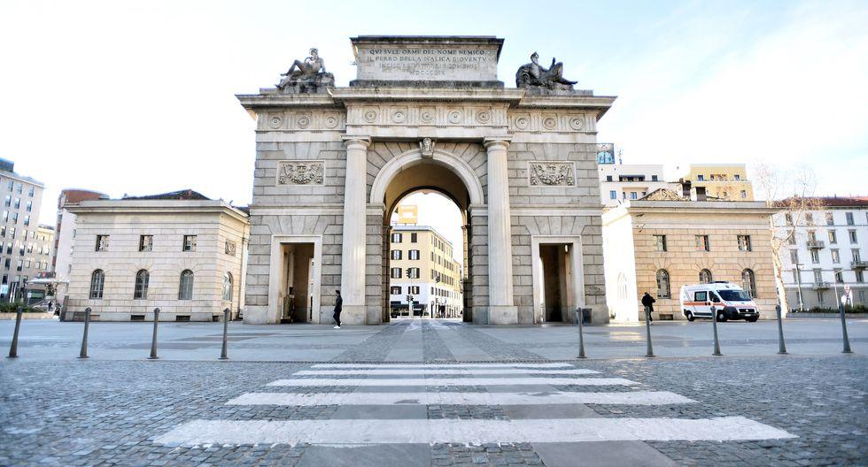 Una vista general de la entrada a la ciudad de Porta Garibaldi. (REUTERS / Flavio Lo Scalzo).