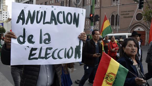 Ambos bandos se culpan mutuamente por la violencia desatada al día siguiente de los comicios. (Foto: AFP)