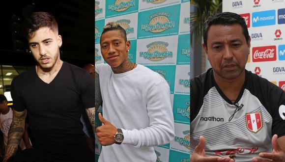 Beto da Silva, Ray Sandoval y Nolberto Solano rompieron la cuarentena que estableció el Gobierno durante la pandemia por el coronavirus. (Foto: GEC)