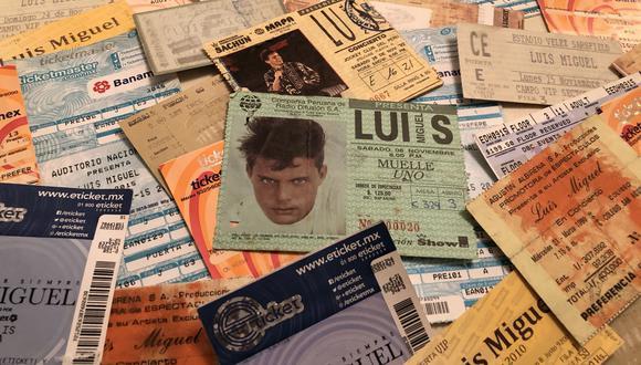 Lucy Gómez Sánchez ha ido a ver a Luis Miguel en concierto 102 veces. (Foto: Gabriela Machuca).