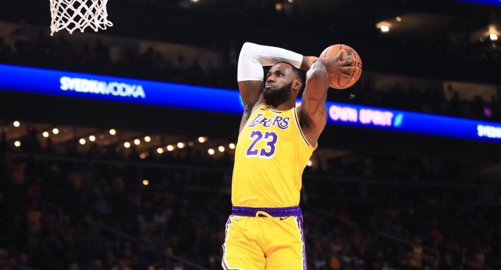 Lakers enfrentaron a Hawks por la NBA | Foto: Lakers