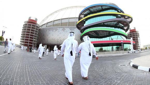 El estadio internacional Khalifa, de Doha, fue el escenario de la inauguración y acogerá la mayoría de partidos de un torneo que estuvo a punto de no jugarse. (Foto: AFP)