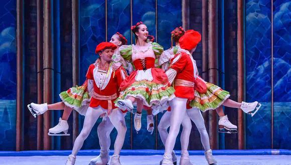 Ballet sobre hielo, uno de los espectáculos que produjo Prodartes antes de la pandemia. El panorama cambió completmente desde marzo. (Foto: Facebook)
