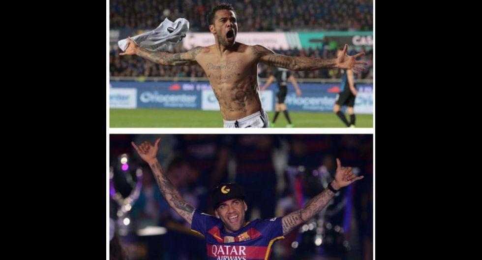 Juventus vs Mónaco: Dani Alves es protagonista de los memes - 17
